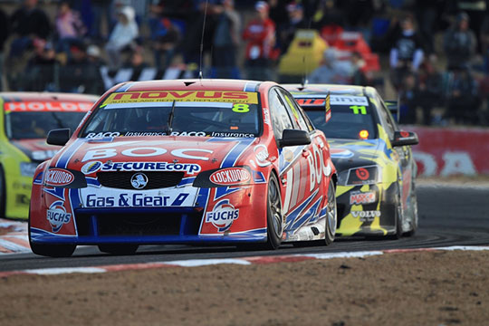 Jason Bright wins at Winton in 2011