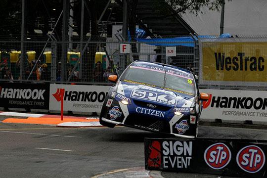 Shane Van Gisbergen Sydney Telstra 500 2011