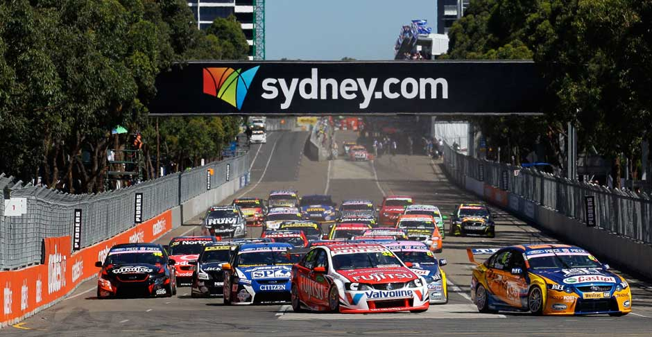 V8 Supercars Sydney Telstra 500