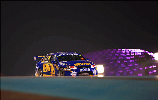 IRWIN Racing V8 Supercar Abu Dhabi 2011