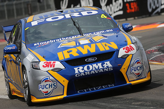 Lee Holdsworth on the streets of Sydney Olympic Park