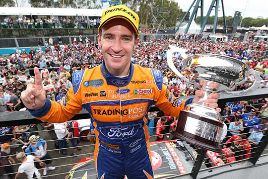 Will Davison finally wins at Homebush to round out 2012 season