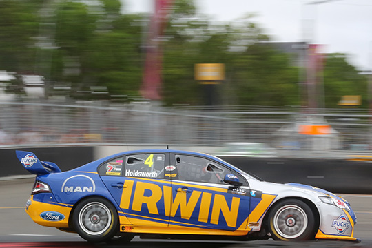 Lee Holdsworth has finished the V8 season in eighth position