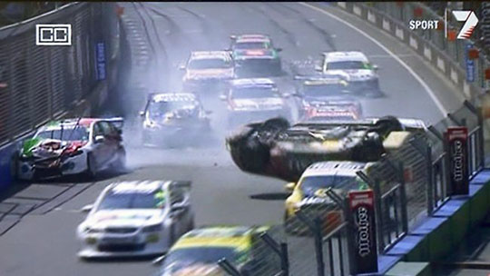 Ricky Taylor Gold Coast 600 crash