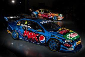 Pepsi Max Crew #5 and #6 Ford Falcon colours (side)