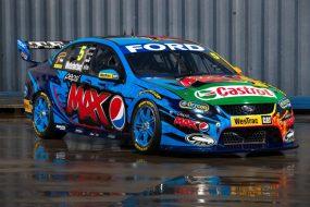 Mark Winterbottom's Pepsi Max Crew #6 Ford Falcon (side)