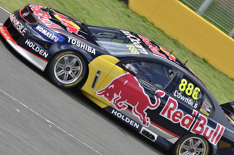 V8 Supercars Test Day Sydney