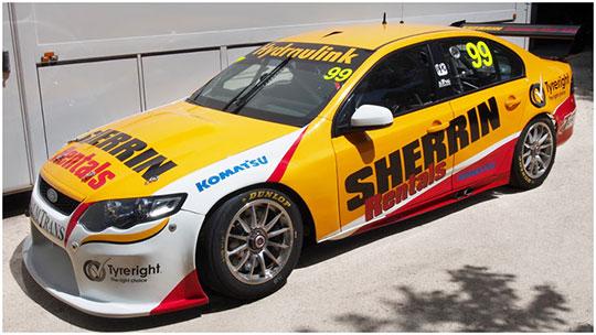 Chaz Mostert's 2013 Dunlop Series car