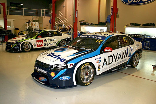 Dick Johnson Racing 2013 Liveries