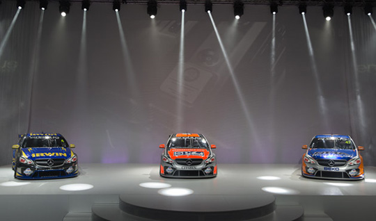 Erebus Motorsport unveil its Mercedes-Benz AMG V8 Supercars