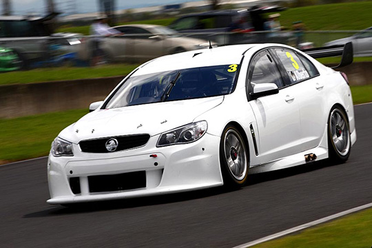 Tony D'Alberto V8 Supercars pre-season test