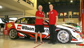 Dick Johnson Racing Shell-backed #17 Wilson Security livery