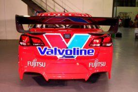 Fujitsu Racing GRM livery (back)