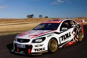 Holden Racing Team racing colours (side)