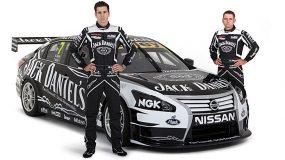 Jack Daniel's Racing Nissan Altima team (side)