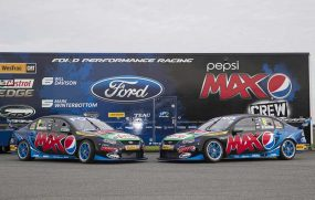#5 and #6 Pepsi Max Crew liveries