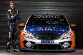 Tim Slade and the HHA Racing AMG Mercedes Benz