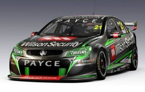 Wilson Security Racing Commodore