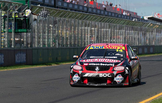 Fabian Coulthard wins race two at Albert Park