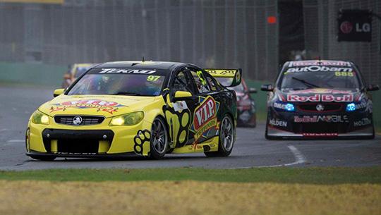 Shane van Gisbergen leads race 3