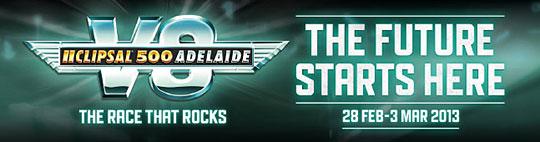 V8 Supercars Clipsal 500 Adelaide