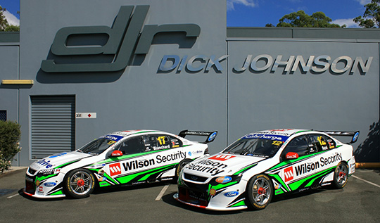 Dick Johnson Racing - Wilson Security Racing liveries