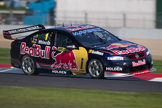 Jamie Whincup ITM400 Auckland