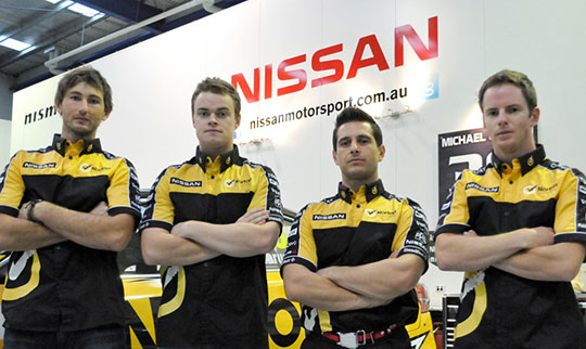 Nissan Motorsport Norton 360 Racing Endurance line-up