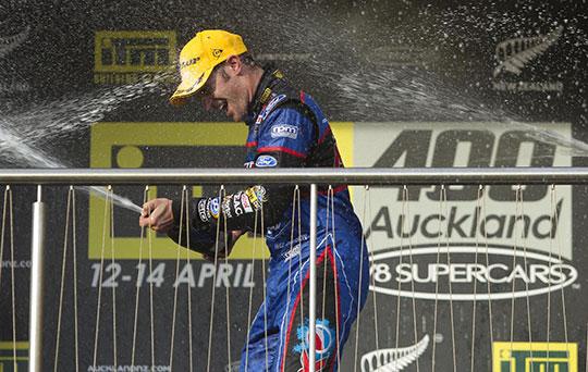 Will Davison ITM400 Auckland