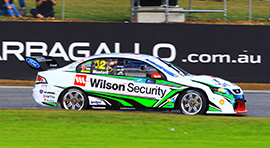 Chaz Mostert #12 Wilson Security Racing Ford Falcon
