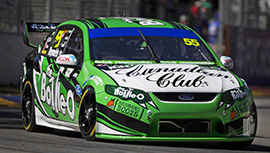 David Reynolds #55 The Bottle-O Racing Team Ford Falcon