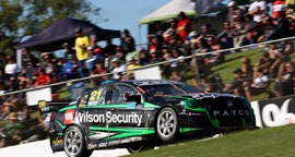 David Wall #21 Wilson Security Racing Holden Commodore