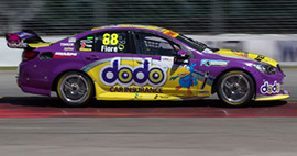 Dean Fiore #88 Dodo Insurance Racing Holden Commodore