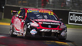 Fabian Coulthard #14 Lockwood Racing Holden Commodore