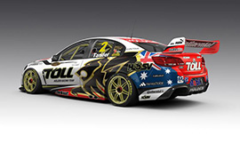 Garth Tander #2 Holden Racing Team Holden Commodore US livery