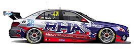 Tim Slade #47 Heavy Haulage Racing Australia Mercedes E63 AMG US livery