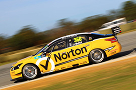 James Moffat #360 Norton 360 Racing Nissan Altima