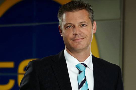 New V8 Supercars CEO James Warburton