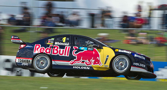Jamie Whincup on pole for race 10 in Perth