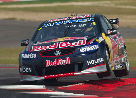 Jamie Whincup tops the Texas timesheets
