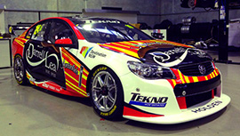 Jonathon Webb #19 Team TEKNO Darrell Lea Holden Commodore US livery