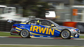 Lee Holdsworth #4 IRWIN Racing Mercedes E63 AMG