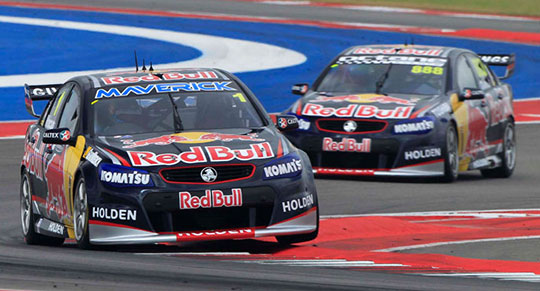 Red Bull 1-2 Qualifying Austin 400