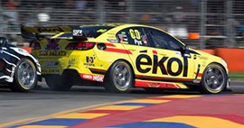 Scott Pye #80 ékol Racing Holden Commodore