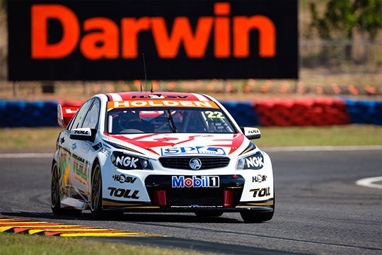 James Courtney takes pole for Race 18 in Darwin