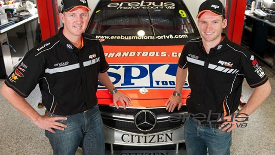 Steve Johnson joins Maro Engel at Erebus Motorsport V8 for the 2013 V8 Supercars enduros