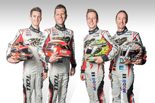 Holden Racing Team 2013 Endurance Line-Up