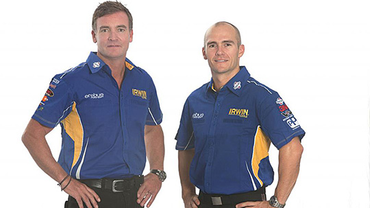 Craig Baird will partner Lee Holdsworth for the 2013 endurance rounds
