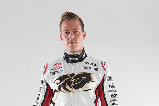 James Courtney re-signs with Holden Racing Team