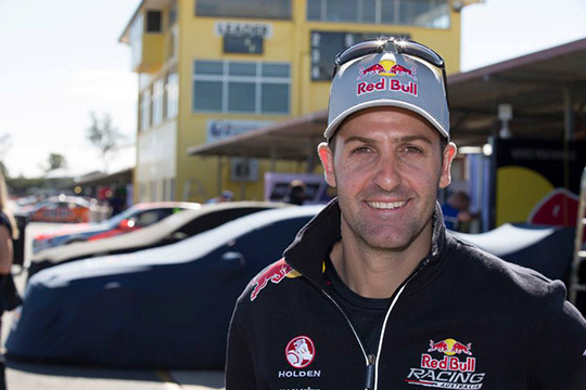 Jamie Whincup lands a second consecutive pole in Ipswich
